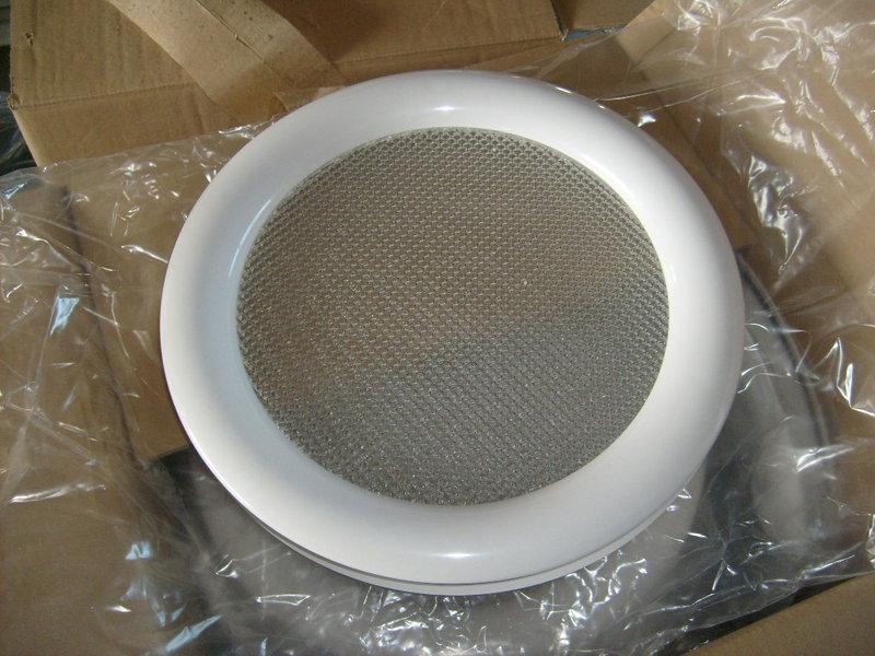 hublot rond blanc 1 vitre pointe de diamant paisseur 24 mm. Black Bedroom Furniture Sets. Home Design Ideas