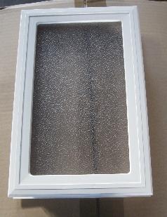 Hublot BLANCNOIR Rectangulaire Vitrage Polycarbonate - Hublot pour porte de garage