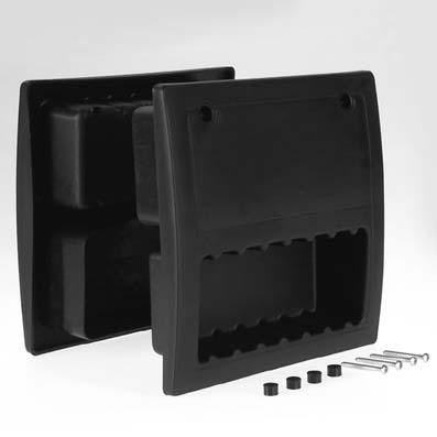 Poign e encastrer carr e 200 x 200 mm abc hublots - Porte de garage basculante 200x200 ...