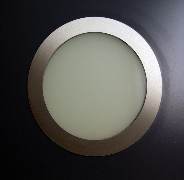Hublot rond inox 280 mm inox 316 double vitrage verre sabl abc hublots - Hublot cloison placo ...
