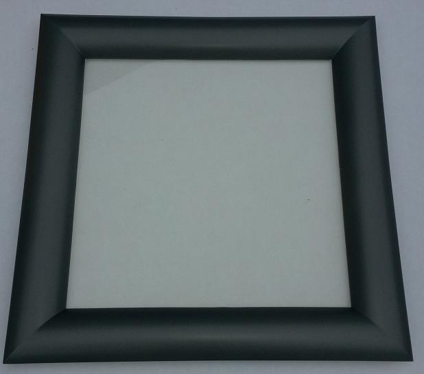Hublot carr 1 vitre 1 face anthracite vitre sabl e p for Rendre une vitre opaque