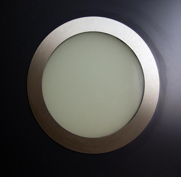 Hublot rond 280 mm alunox double vitrage verre p 45 - Porte interieur epaisseur 30 mm ...