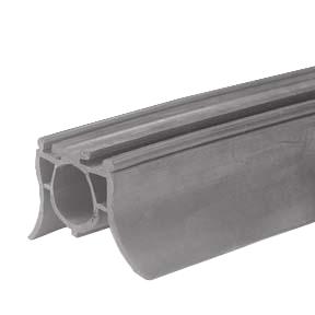 profil en u aluminium joint 2 levres pour panneau de 40 mm 2 8 m abc hublots. Black Bedroom Furniture Sets. Home Design Ideas