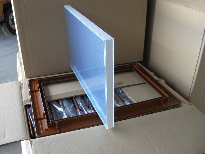 Faux Bois Chene : Hublot rectangulaire faux bois ch?ne clair 531 x 364 mm – ABC-Hublots