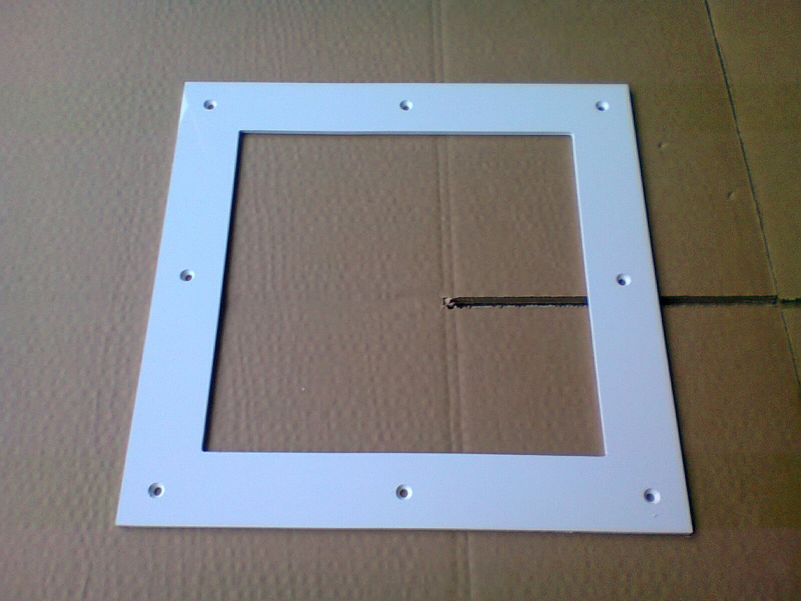 Hublots 1 vitre pour paisseur 14 mm abc hublots for Vitrage pour porte interieure
